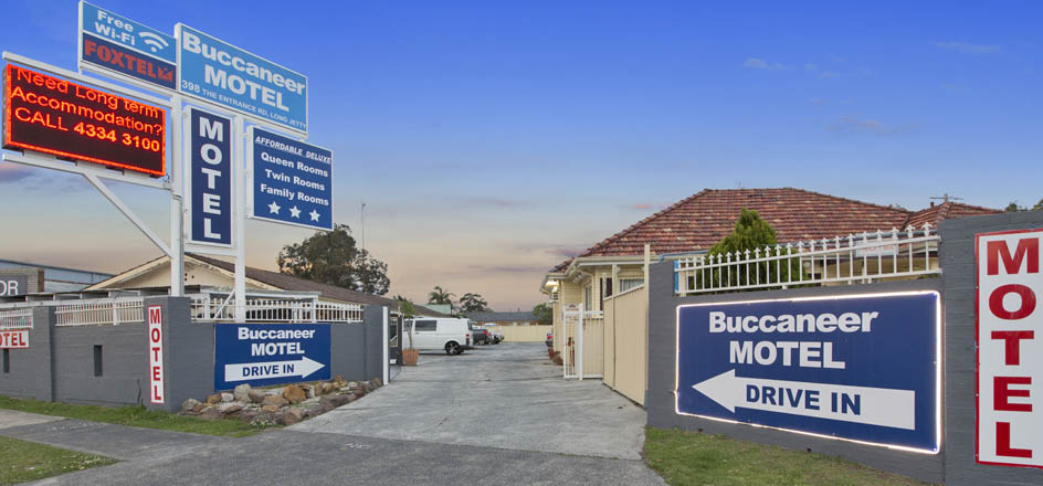 Buccaneer Motel is conveniently located on a major street which is easy to find and commute.