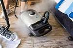 German Steam Cleaner In Use